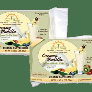 Trial Size Creamy vanilla