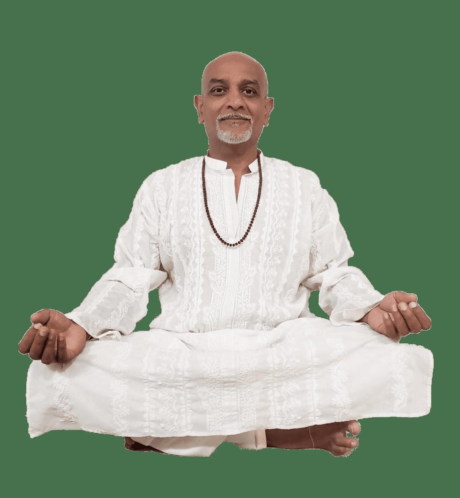 Vimal Meditating